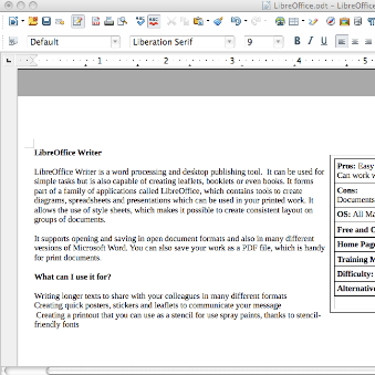 LibreOffice   The Info-Activism How-To Guide